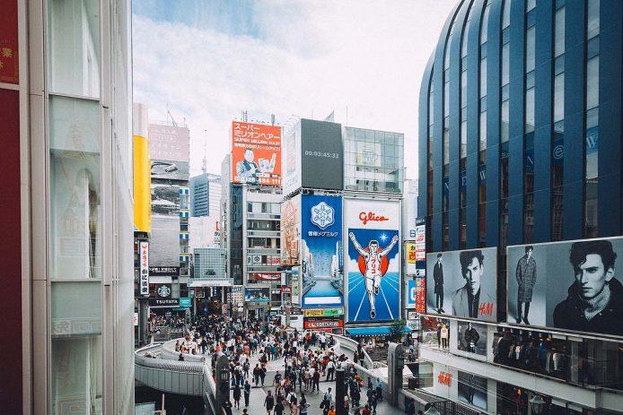 Pasear por el barrio Dontobori de Osaka