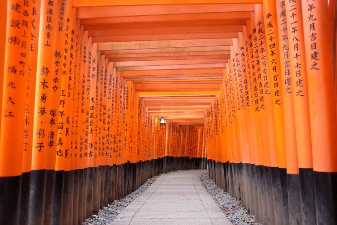 Hazte una foto en el Fushimi Inari-Taisha de Kioto