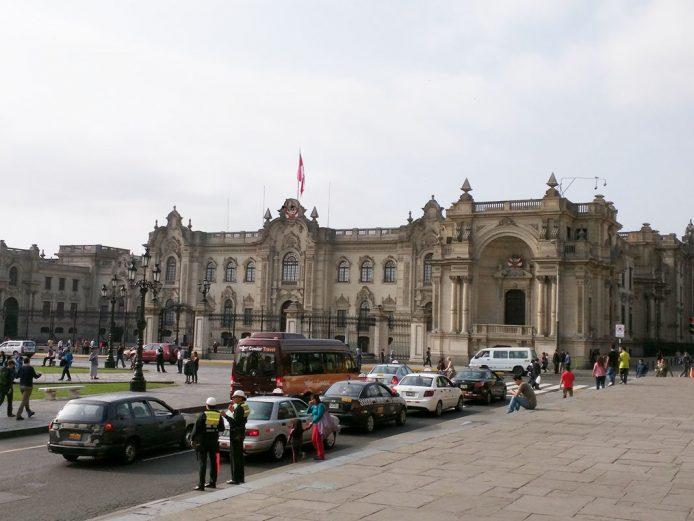 Conocer el Palacio de Gobierno en Lima