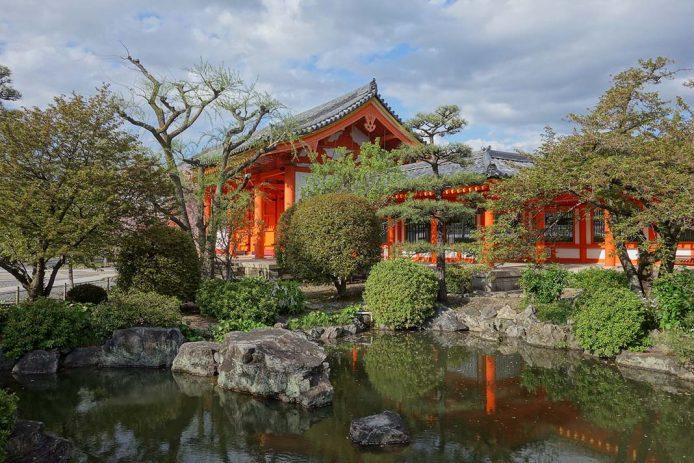 El templo budista de Sansjusangen-do