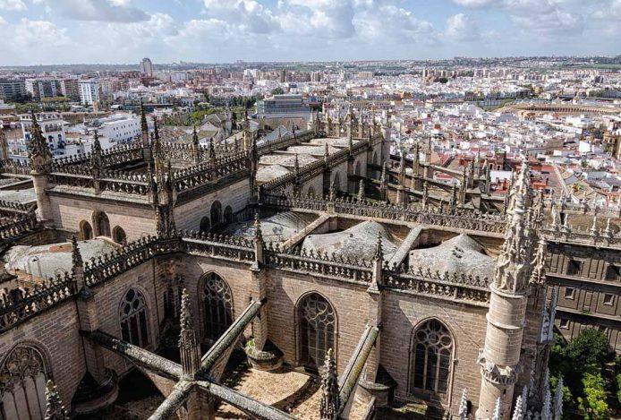 Sevilla desde los aires