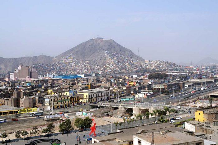 El Cerro de San Cristobal en Lima