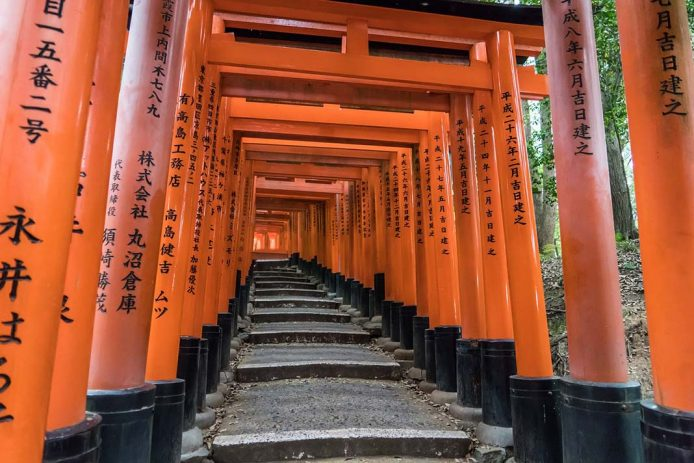 Fushimi Inari-Taisha y sus 1000 toris