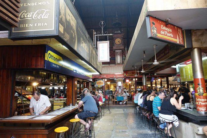 El Mercado del Puerto, el centro gastronómico en Montevideo