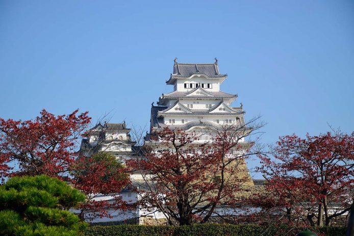 Castillo Himeji en Kobe