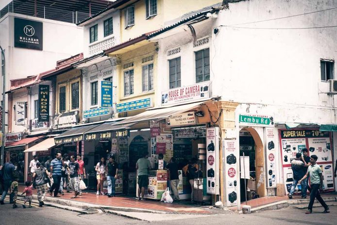 El barrio hindú de Singapur