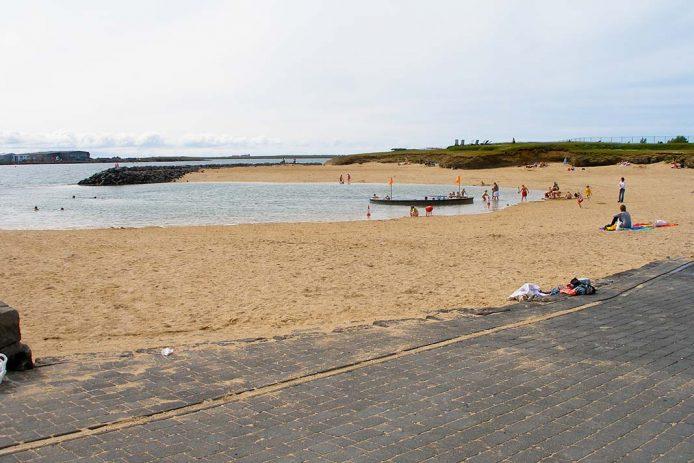 La playa en Reykjavik