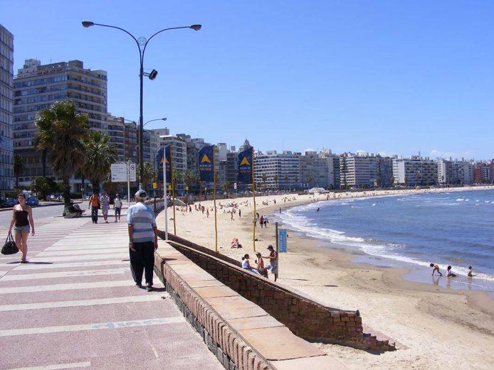 Paseate por la Rambla de Montevideo