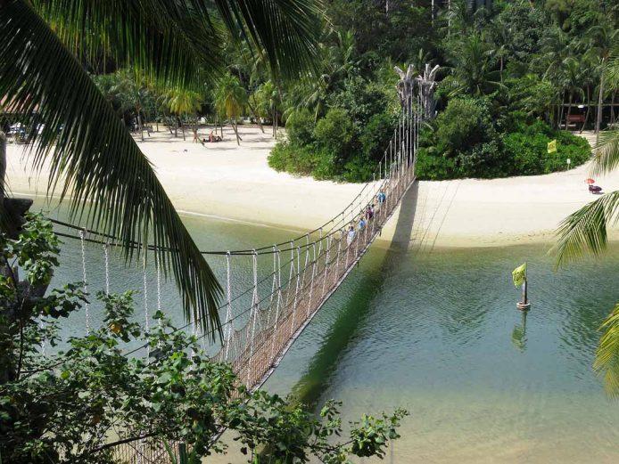 Visitar en Singapur la isla de Sentosa