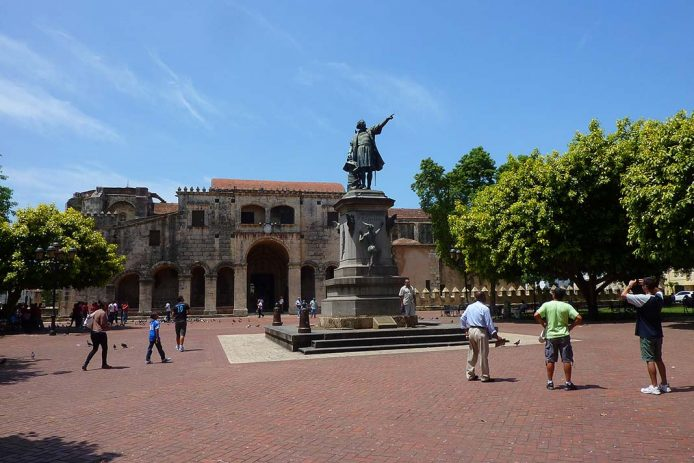 Visitar la zona colonial de Santo Domingo