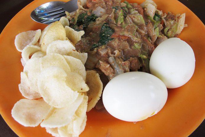 Comida tradicional Balinesa
