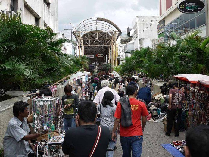 Visitar los mercadillos en Jakarta