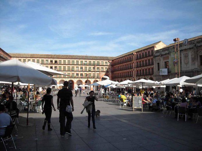 La plaza corredera de Cordoba
