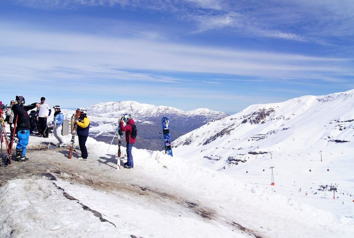 Visita el Valle Nevado de Santiago de Chile