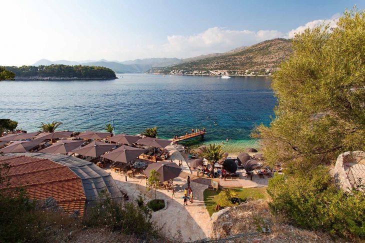 Babin Kuk, para alojarse en Dubrovnik en familia cerca de la playa