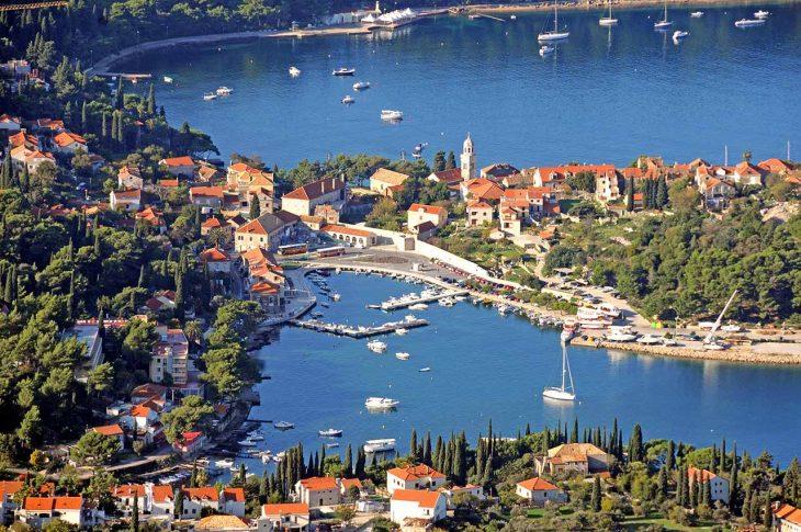 Cavtat, pueblo cercano a Dubrovnik para los que buscan tranquilidad