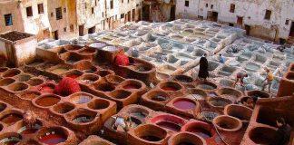 Visitar Chouwara, el zoco de curtidores en Fez