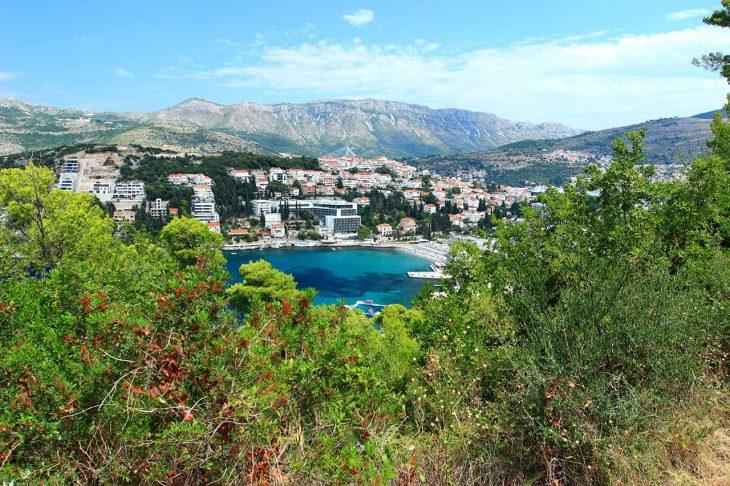 Lapad, ideal para dormir en Dubrovnik céntrico y cerca de la playa