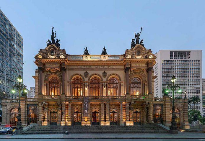 Teatro Municipal en Sao Paulo