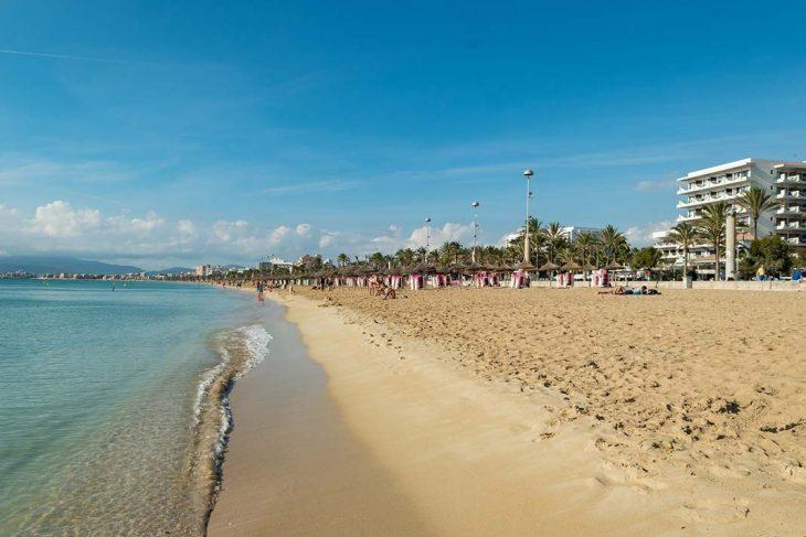 Alojarse en la Plalya El Arenal de Mallorca