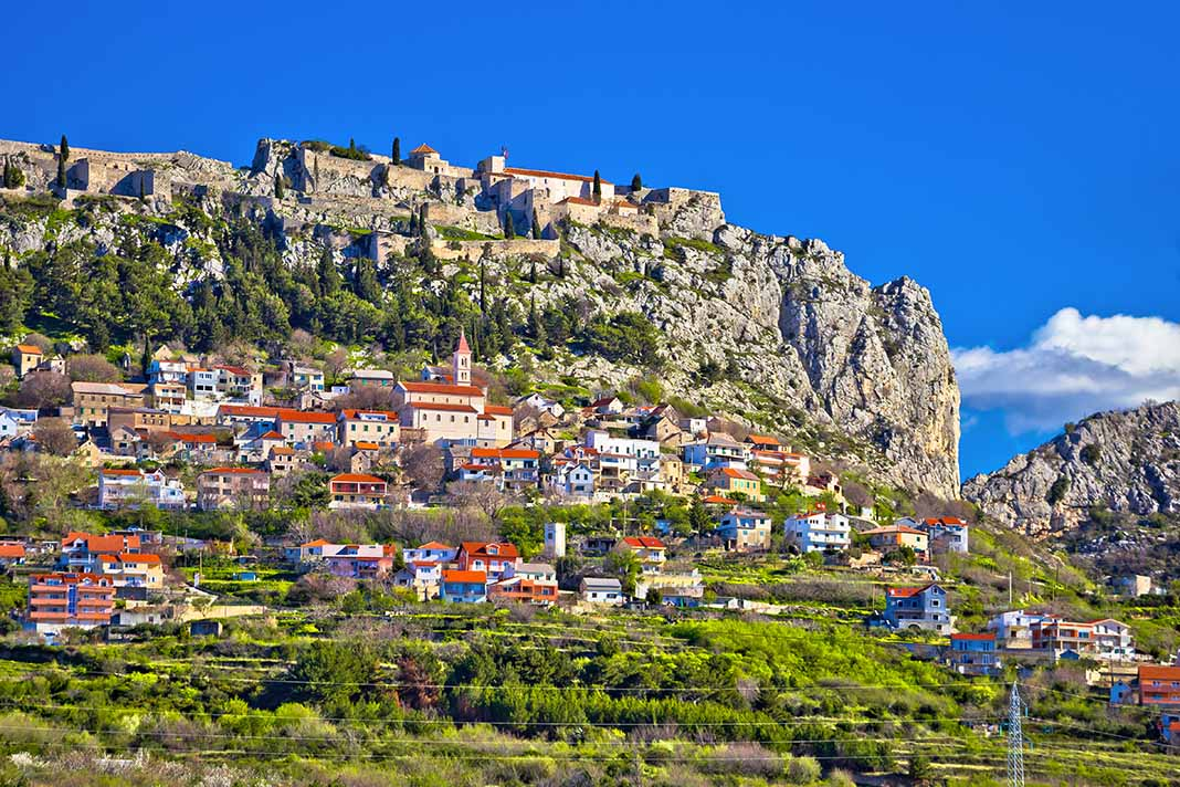 Visitar la Fortaleza Klis, Split. Croacia