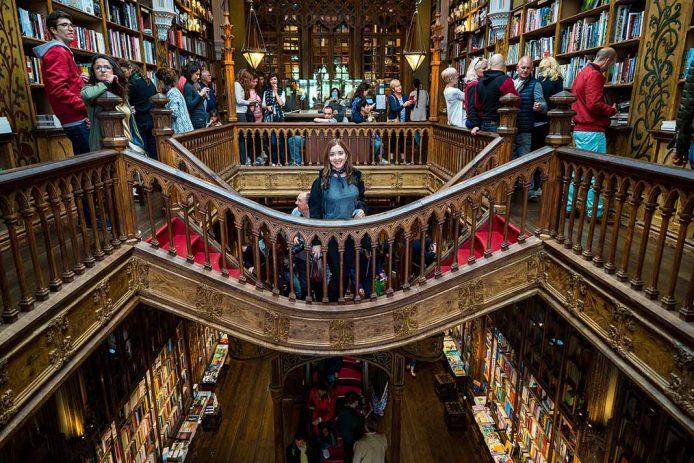 Visitar la Librería Lello en Oporto