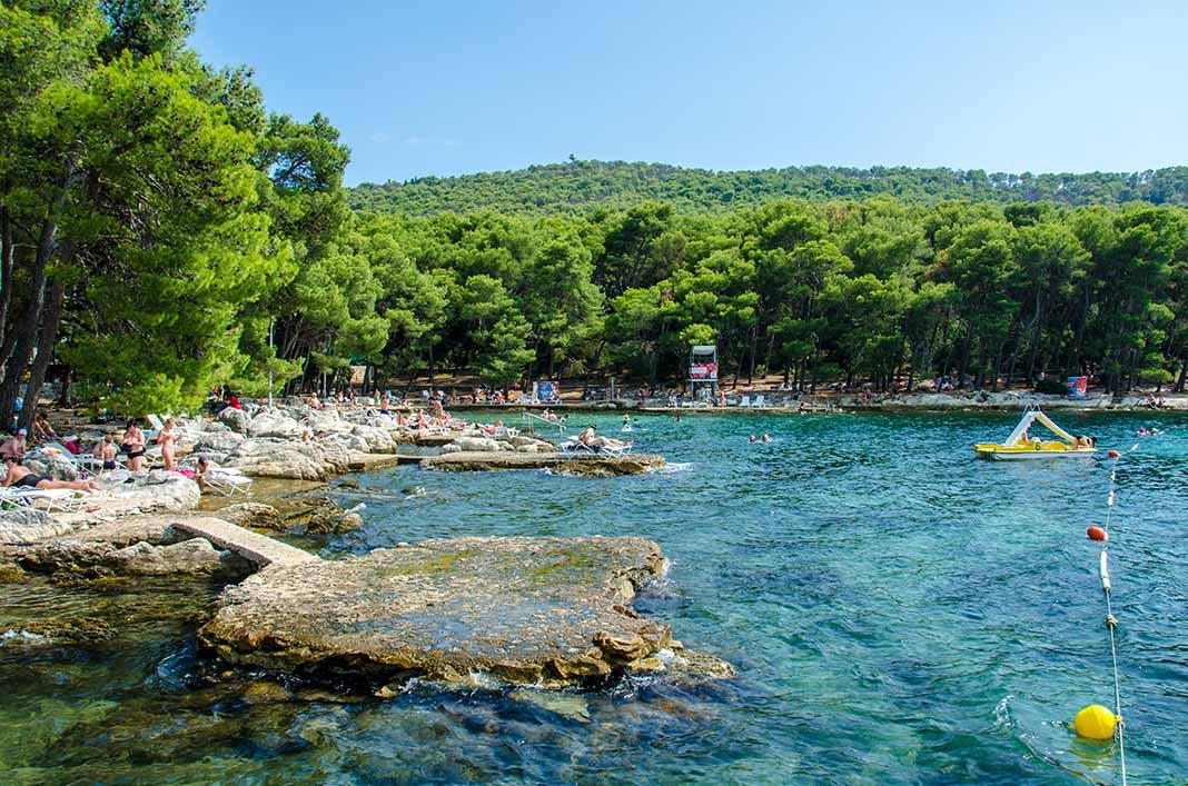Visitar el Parque Marjan en Split, Croacia