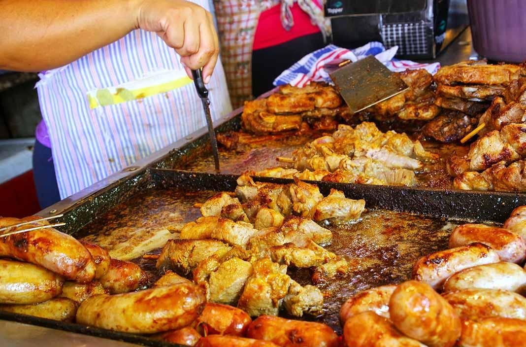 Pasear por el Mercado Cuatro de Asunción, Paraguay