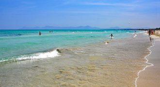 Visitar las Playas del Muro en Mallorca