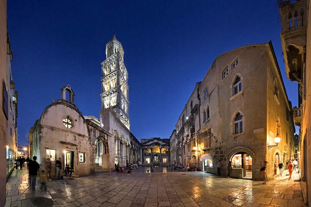 Visitar el Palacio de Diocleciano