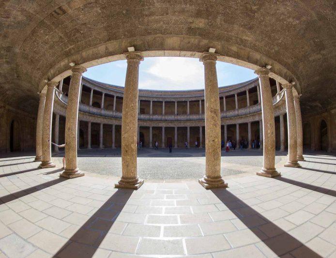 Visitar el Palacio Carlos V en Granada
