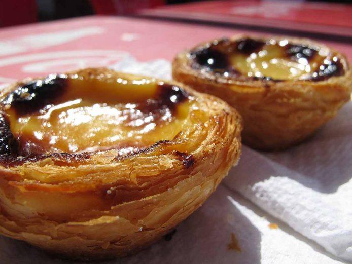Pasteis de Belem en Oporto