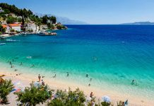 Bañarse en las Playas de Split, Croacia