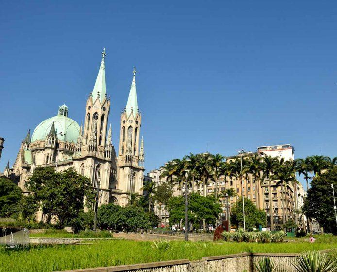 Catedral Da Sé en Sao Paulo