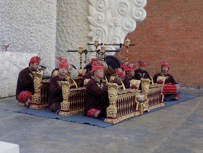 Gamelan, musica tradicional Yogiakarta, Indonesia