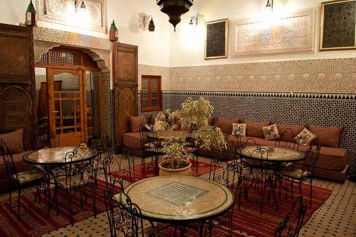 Alojarse en un riad en Fez