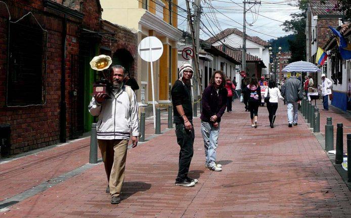 Pasea por Usaquen, Bogotá