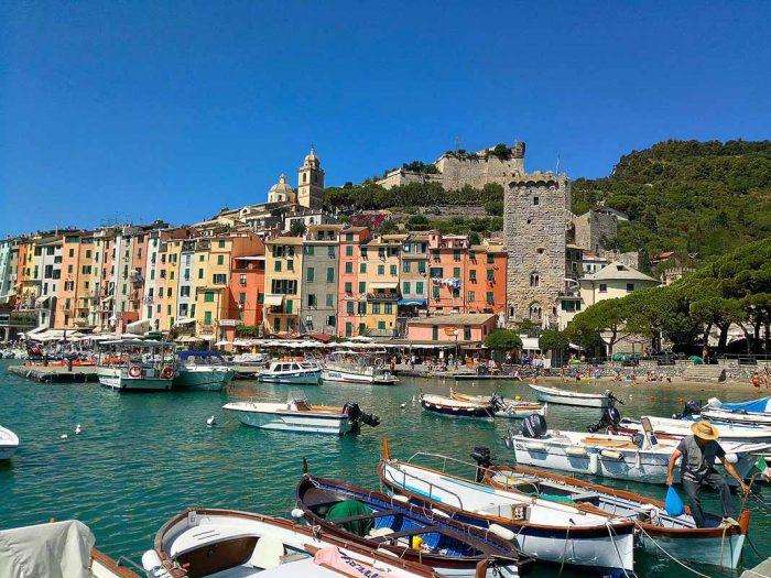 Alojarse en Cinque Terre: Portovenere