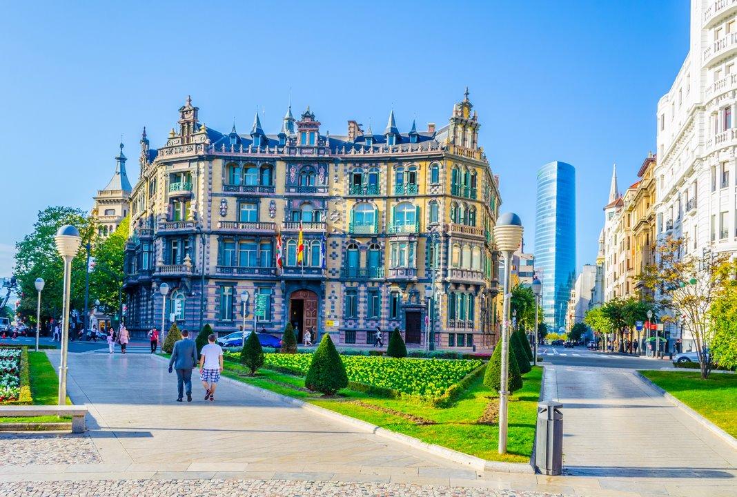 Barrio de Abando Bilbao