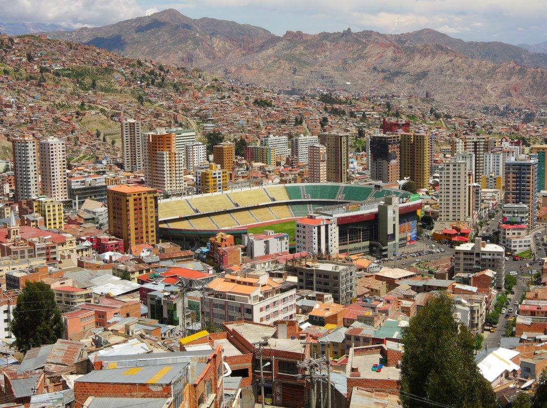 Alojamiento en La Paz