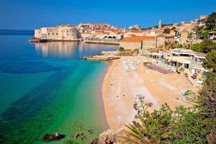 Las playas de Dubrovnik