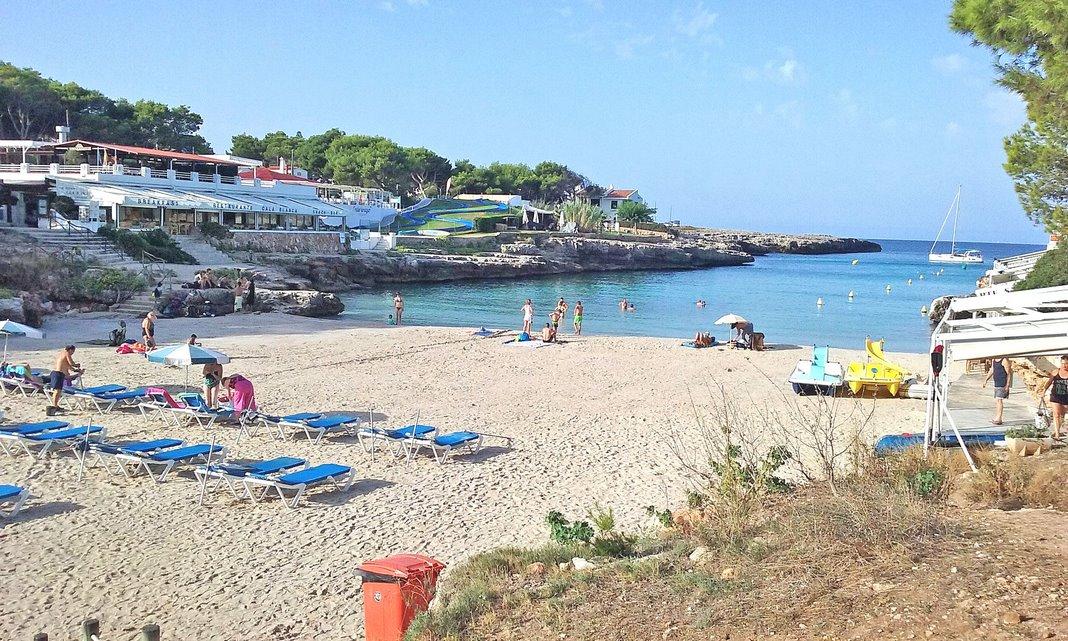 Cala Blanca Menorca