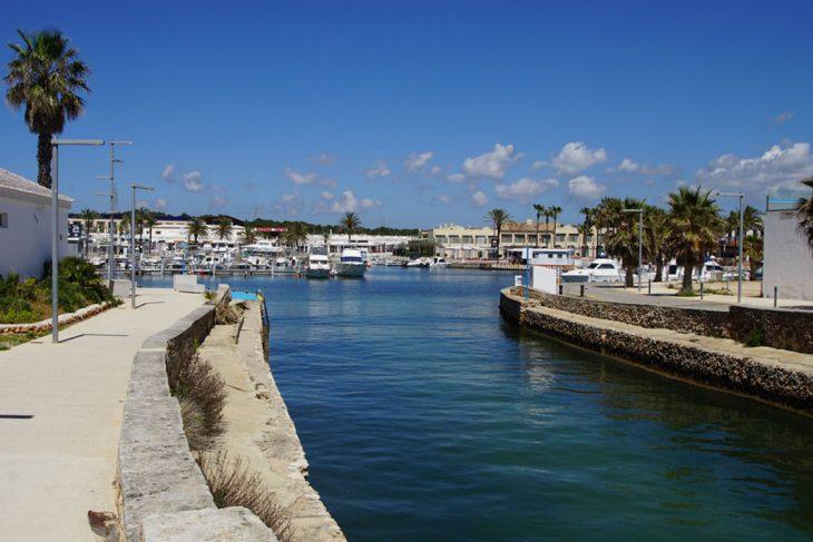 Dormir en Cala'n Bosch de Ciutadella, Menorca