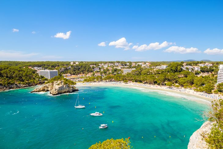 Dormir en Cala Galdana, Menorca