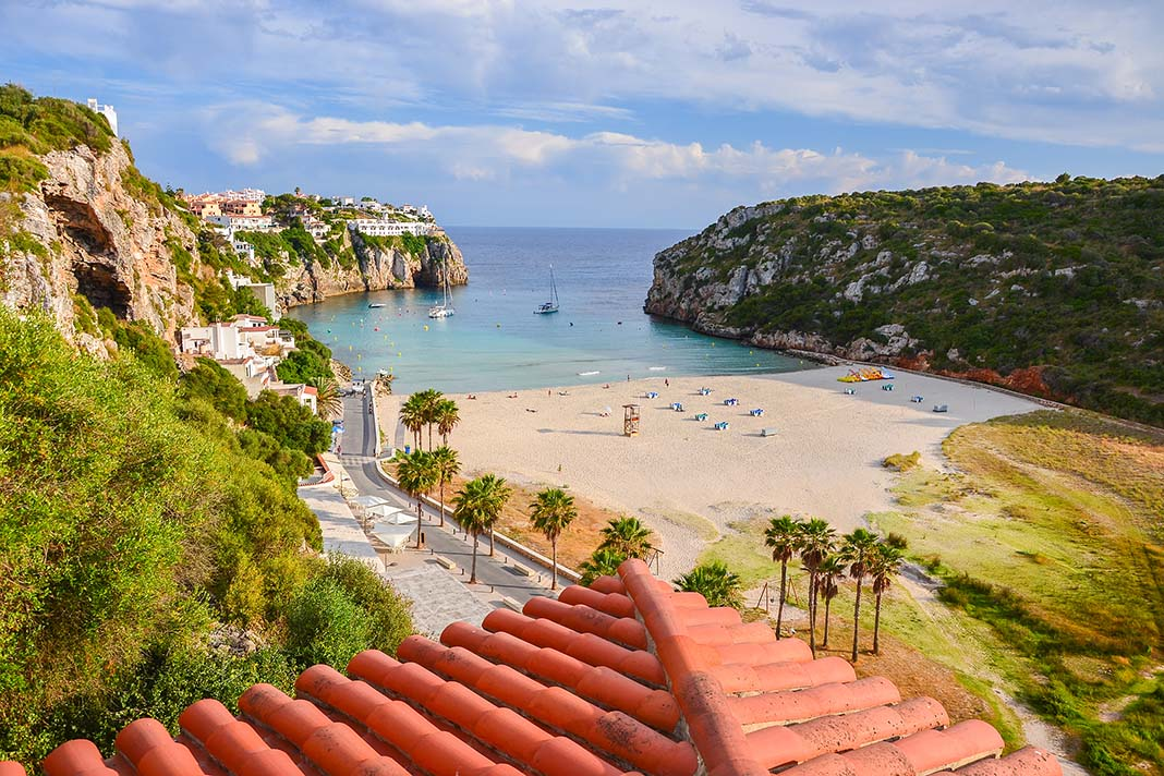 Dormir en Cala en Porter, Menorca