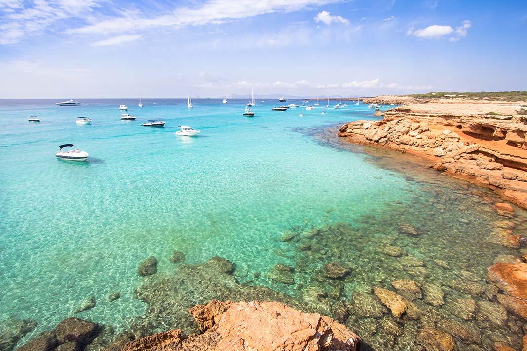 Dormir en Cala Saona, Formentera