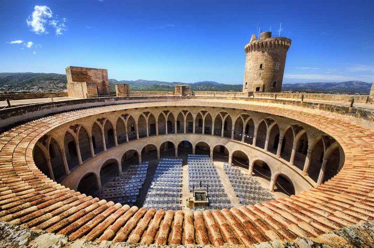 Visitar el Castillo Bellver en Mallorca