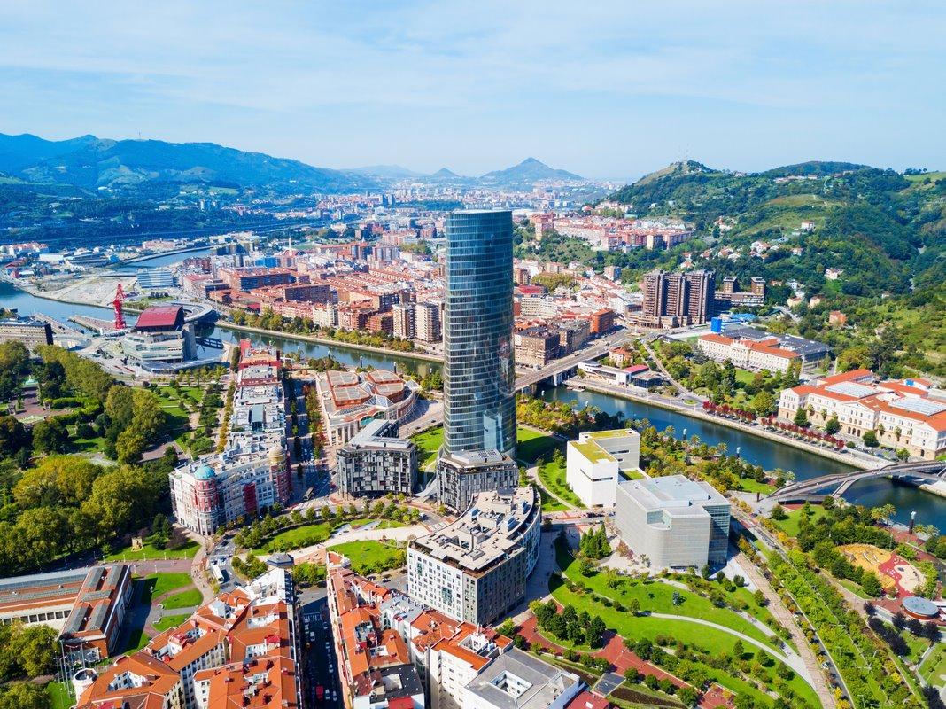 Alojarse en el centro de Bilbao