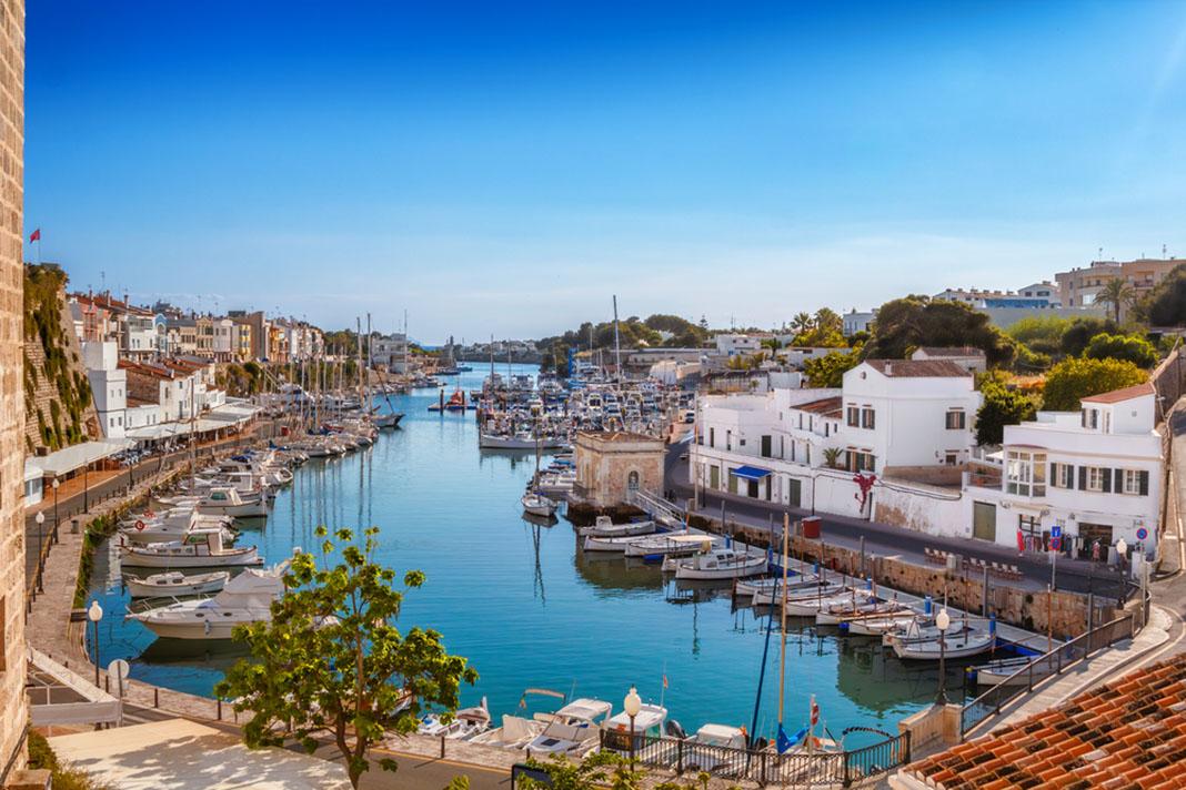 Alojarse en Ciutadella, Menorca