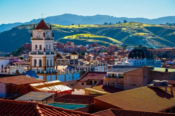 Dónde alojarse en Sucre